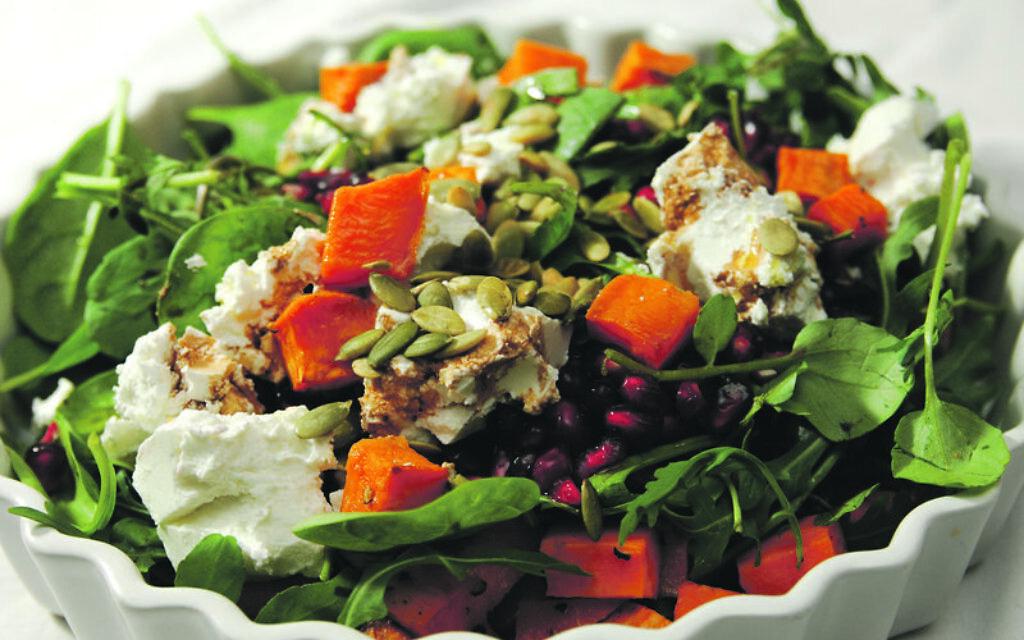 Eat and drink: Pumpkin, Rocket and Pomegranate Salad