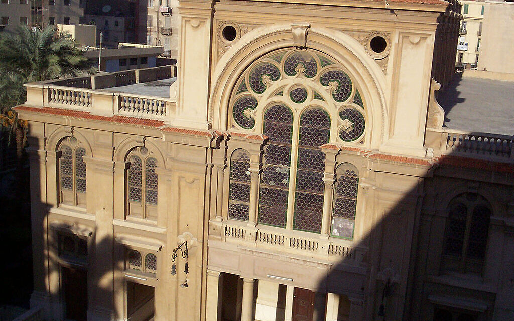 Jews of Egyptian origin return for 'emotional' service at historic shul