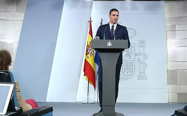 Spanish PM Pedro_Sánchez (Wikipedia/Ministry of the Presidency. Government of Spain)