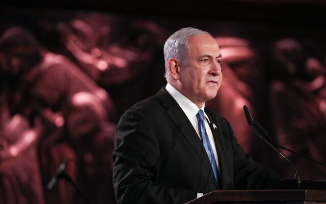 Israeli Prime Minister Benjamin Netanyahu  .  Photo by Yonatan Sindel-JINIPIX