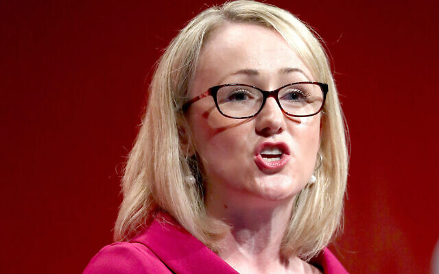 Rebecca Long-Bailey. (Photo credit: Gareth Fuller/PA Wire)