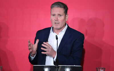 Keir Starmer speaking during the Labour leadership husting at the ACC Liverpool. (Photo credit: Danny Lawson/PA Wire)