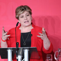 Emily Thornberry (Photo credit: Danny Lawson/PA Wire)