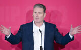 Keir Starmer during the Labour leadership husting at the ACC Liverpool. PA Photo. Picture date: Saturday January 18, 2020. See PA story POLITICS Labour. Photo credit should read: Danny Lawson/PA Wire