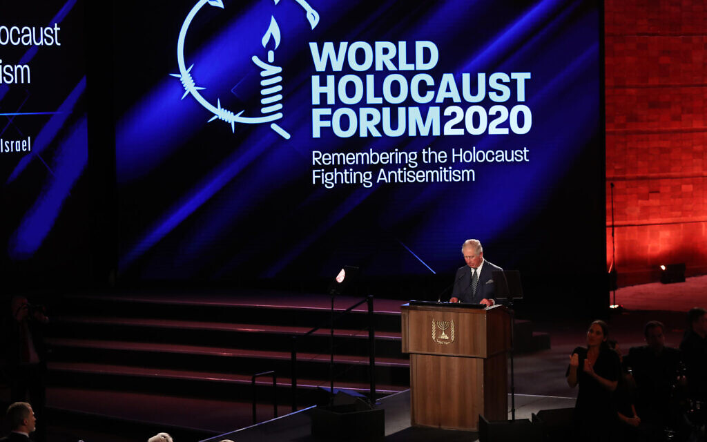 Yad Vashem sorry for 'errors' in films screened at Auschwitz commemoration