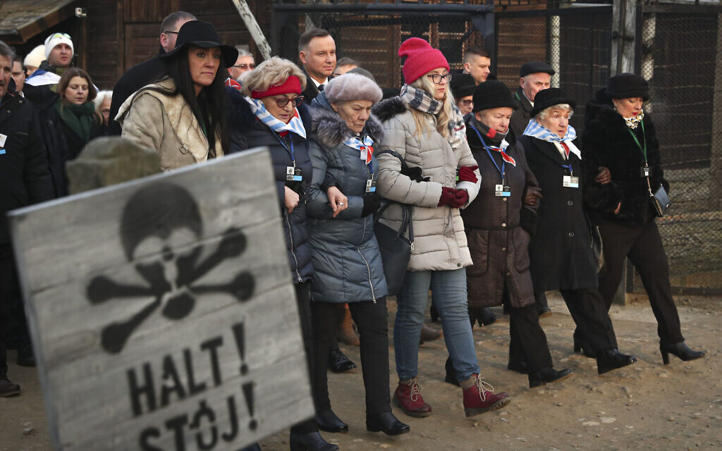 'The liberation of Auschwitz continues right here, right now, every day'