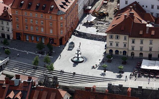 Slovenian capital of Ljubljana. (Wikipedia /Mark Ahsmann/Creative Commons Attribution-Share Alike 3.0 Unported license.)