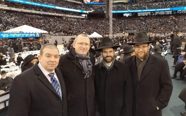 Rabbis Sam Taylor, Barry Lerer, Yoni Birnbaum,  Nicky Liss