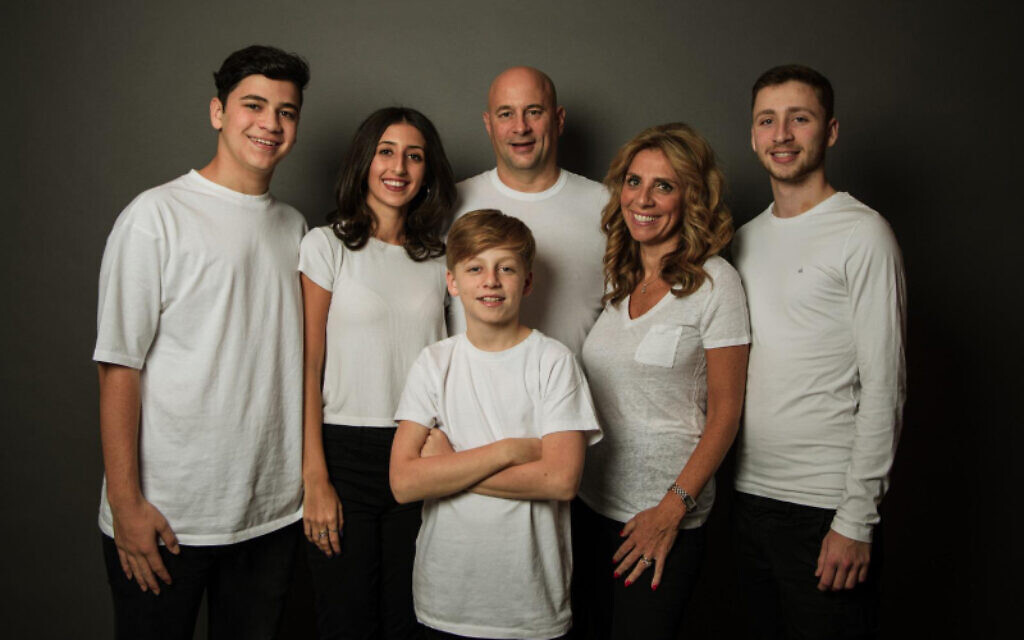Nicola with her family