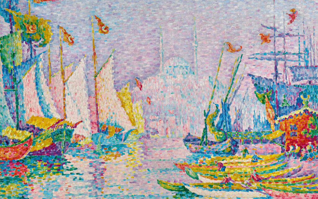Image result for PAUL SIGNAC La Corne d'Or. Matin, 1907, oil on canvas, 73 by 92cm. (est. £5,000,000 – 7,000,000)