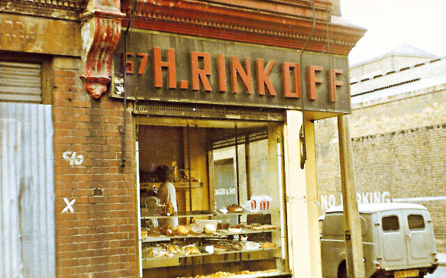 Rinkoffs on Old Montague Street, Whitechapel, in the 1970s