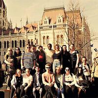 Junaid Iqbal on visit to Budapest