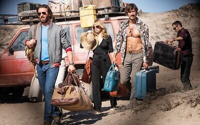 Chris Evans, Haley Bennett, Michiel Huisman, Alex Hassell - Red Sea Diving Resort