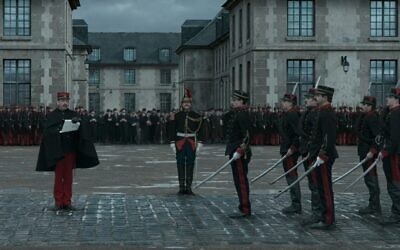 Screenshot from trailer of the film 'An Officer and a Spy / J'accuse