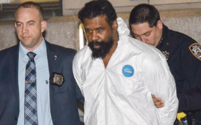 Chanukah stabbing suspect Thomas Grafton