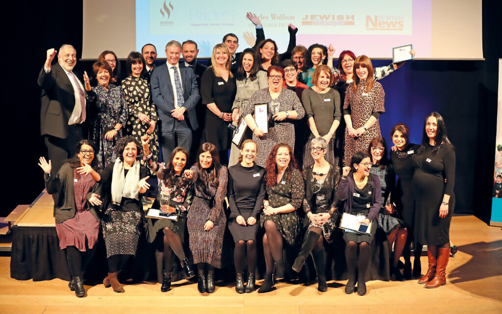 Our winners and shortlisted educators celebrate at the conclusion of last year's awards! (Credit: Marc Morris)