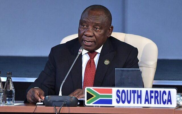 South African president Cyril Ramaphosa   (Wikipedia/Author: Пресс-служба Президента Российской Федерации. Attribution: Kremlin.ru/https://creativecommons.org/licenses/by/4.0/legalcode)