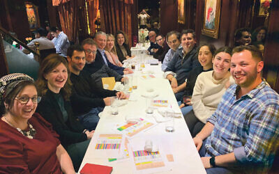 Our judges take time out from their Eighteen Under 18 deliberations at Kaifeng kosher restaurant in Hendon