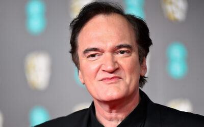Quentin Tarantino . Photo credit: Matt Crossick/PA Wire