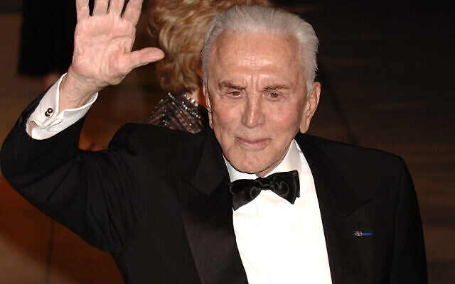 Kirk Douglas who has died at the age of 103. Photo credit: Yui Mok/PA Wire