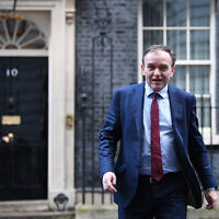 Newly appointed Environment Secretary George Eustice leaving Downing Street,  Credit: Stefan Rousseau/PA Wire)