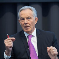 Former prime minister Tony Blair (Photo credit: Stefan Rousseau/PA Wire)