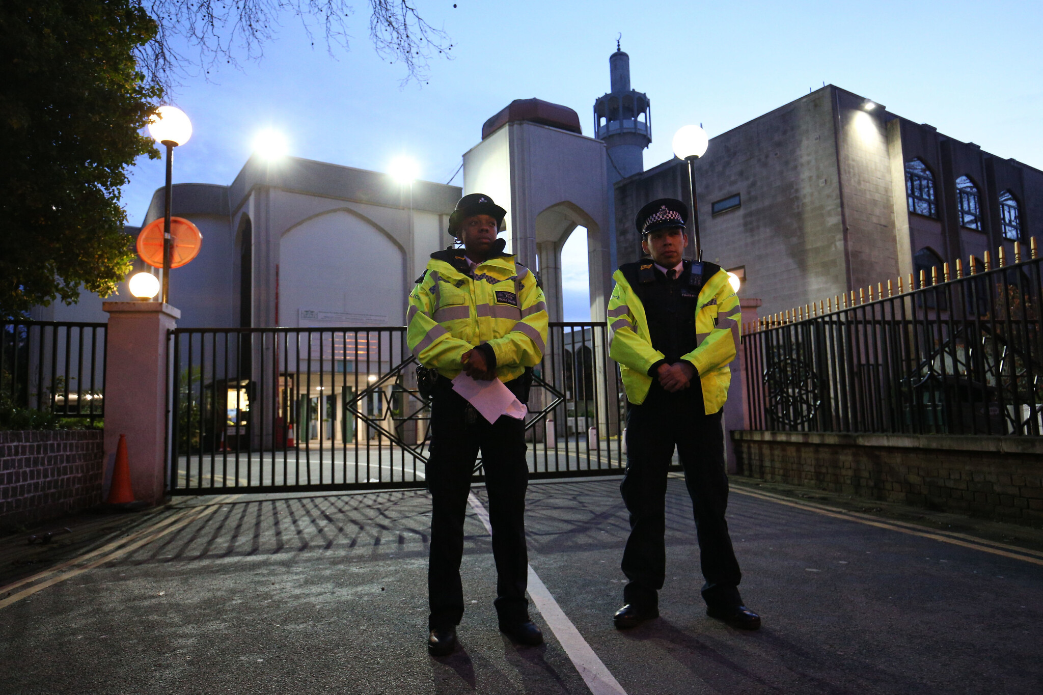 Muslim worshipper stabbed in neck at central London mosque