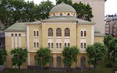 Turku synagogue   (Wikipeda/Västgöten/https://creativecommons.org/licenses/by-sa/3.0/legalcode)