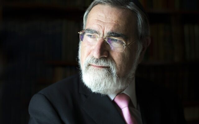 Has society hit a crisis moment? Former Chief Rabbi Lord Sacks explores this issue in his new book, Morality © Blake-Ezra Photography