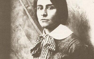 Portrait of Else Lasker-Schüler in 1907  (Credit: Wikipedia Commons)