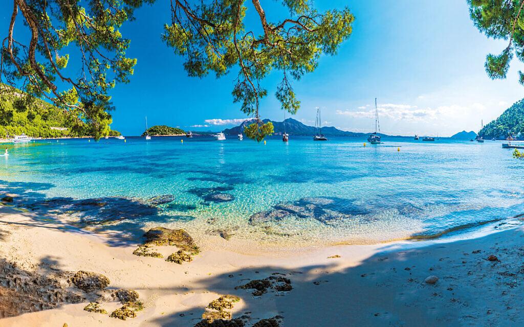 A beautiful beach view in Majorca