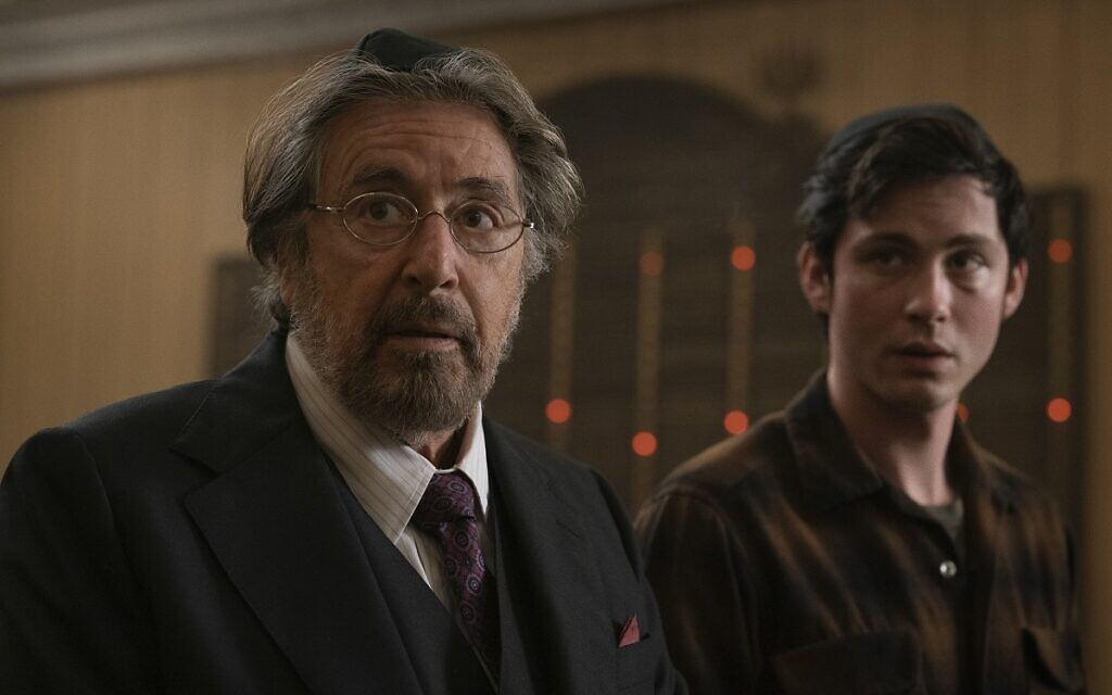 Al Pacino during a scene from Hunters