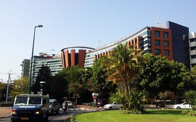 Gett Taxi headquarters in Tel Aviv