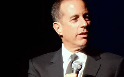 Jerry Seinfeld IN 2016   (Wikipedia/ slgckgc / https://www.flickr.com/photos/slgc/31240933902/  Creative Commons Attribution 2.0 Generic license / https://creativecommons.org/licenses/by/2.0/legalcode)