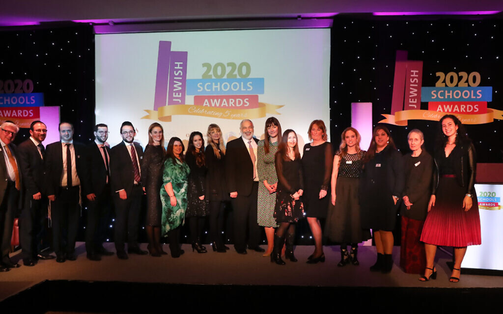 Our amazing finalists at Jewish Schools Awards 2020 (Marc Morris Photography)