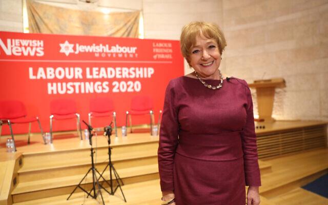 Margaret Hodge at the Jewish Labour Movement's leadership hustings (Marc Morris)