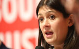 Lisa Nandy at the Jewish Labour hustings (Marc Morris Photography via Jewish News)