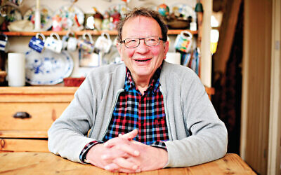 Larry Sanders, older brother of United States presidential hopeful Bernie Sanders, at his home in Oxford.