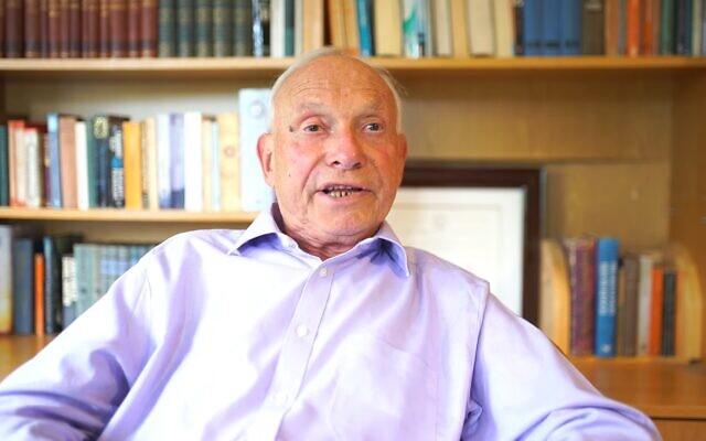 Peter Kirstein (Screenshot from YouTube/ DigitalArchaeology)