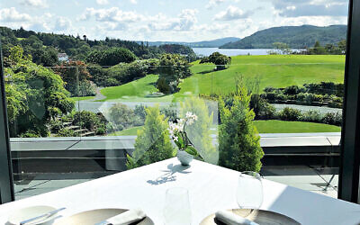 Beautiful views at The Samling Hotel in Windermere