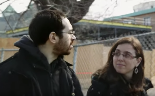 Yohanan and Shifra Lowen are suing the Quebec province and school system. (Screen shot from YouTube via JTA)