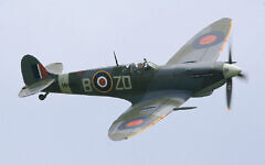 An iconic Second World War Spitfire