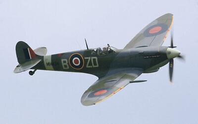An iconic Second World War Spitfire