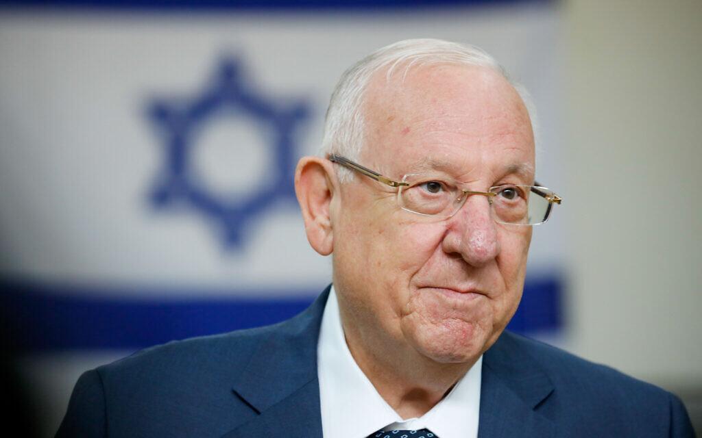 President Reuven Rivlin. Photo by: JINIPIX