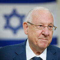 President Reuven Rivlin. Photo by: JINIPIX