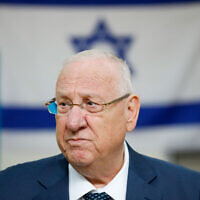 President Reuven Rivlin (Photo by: JINIPIX)