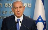 Israeli prime minister Benjamin Netanyahu. Photo by Olivier Fitoussi-JINIPIX