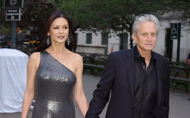 Catherine Zeta-Jones and Michael Douglas (Wikipedia/Author David Shankbone/ (CC BY 3.0) https://creativecommons.org/licenses/by/3.0/legalcode)
