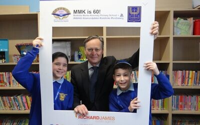 Dozens of grandparents attended a breakfast at the school on Monday, attended by the local MP Matthew Offord, to mark the school's 60th anniversary