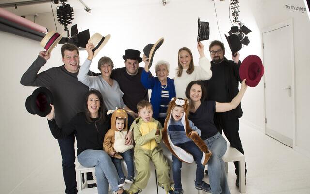 The Rosenberg family